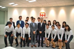 日本ハム企業訪問